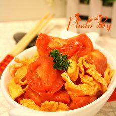番茄炒鸭蛋的做法