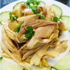 沙姜手撕鸡的做法