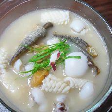 麦香海鲜汤的做法
