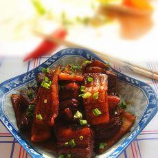 红烧肉烩鱿鱼