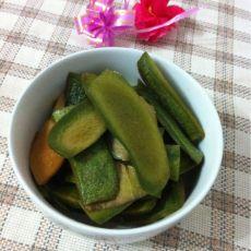 自制萝卜皮咸菜