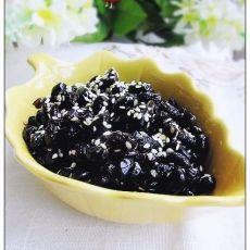蜜汁黑豆的做法
