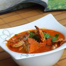 西红柿海蟹汤的做法