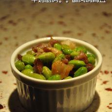 酥肉焖青豆