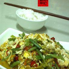 南瓜花炒蛋-下酒菜