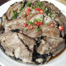 梅干菜蒸扣肉―懒人版