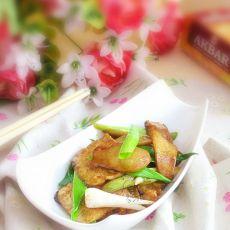 鸡腿菇炒豆腐