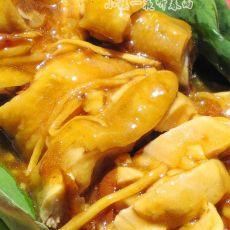 凉菜:荷香冰爽柠檬鸡