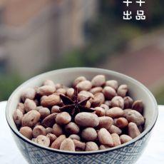 自制五香花生米的做法