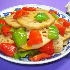 番茄酱伴藕片