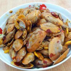豆瓣酱炒花甲的做法