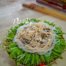 玉米豌豆芽沙拉