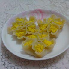牡丹花蒸饺