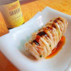 蚝油肉泥莲藕夹