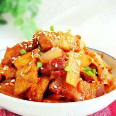 韩式泡菜炒五花肉的做法