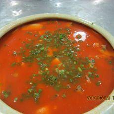 番茄江团的做法