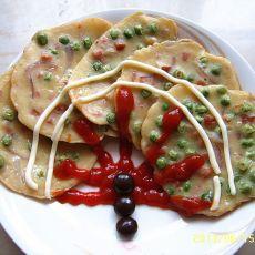 创意豌豆饼