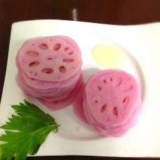 雪碧玫瑰藕的做法