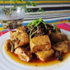 香菇酱炖豆腐的做法