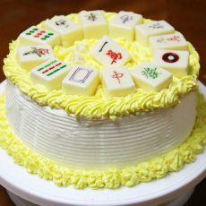 13幺麻将蛋糕的做法