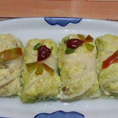 翡翠豆腐卷