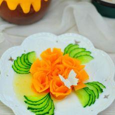 蜜汁金瓜的做法