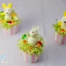 复活节兔子土豆杯