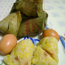 鱼板玉米粽子的做法