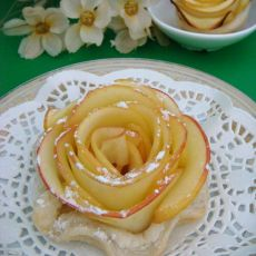 苹果玫瑰花挞
