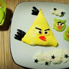 愤怒小鸟蛋包饭
