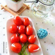 樱桃番茄果郁金香