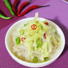 生菜拌粉丝
