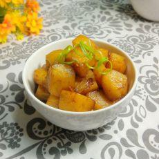 清烧土豆块