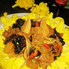 四鲜烤麸―上海本帮菜