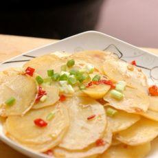 快手菜----剁椒土豆片