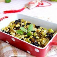 橄榄菜蒸南瓜的做法