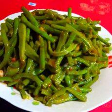 蒜泥豆瓣豇豆-夏季快手菜