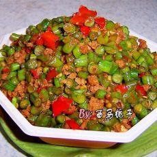剁椒豇豆碎