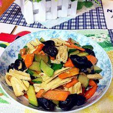 素炒什锦菜的做法