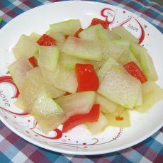 炒冬瓜片的做法