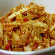 韩版泡菜之二--辣白菜