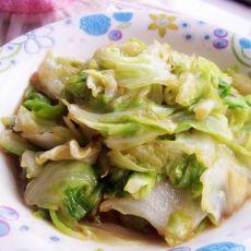 蚝油包菜的做法