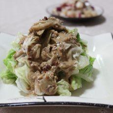 麻酱白菜叶