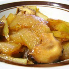 香菇烧冬瓜的做法