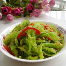 青红椒莴笋丝