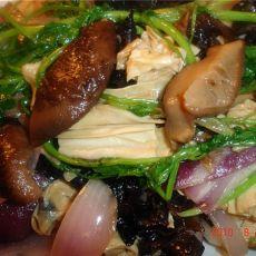 蚝油炒素菜