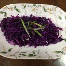 素炒紫甘蓝