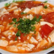 蕃茄豆腐的做法