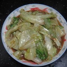 黄豆酱炒生菜