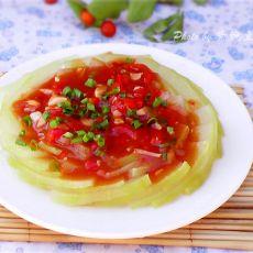 茄汁冬瓜的做法